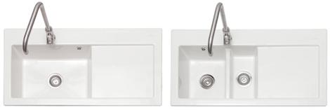 Ceramic Inset Sinks