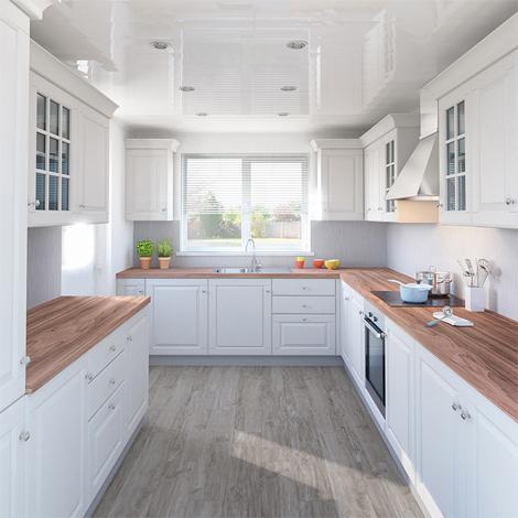 Superieur Platinum Wave Kitchen Wall Panels » Ahmco