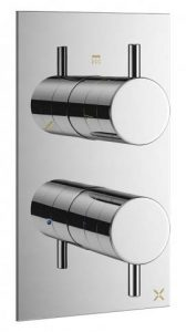 Dual Control Concealed Shower