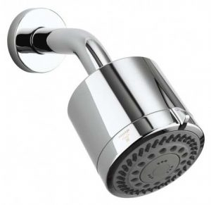 Different Shower Heads For Use With Concealed Showers: Small Fixed  Showerhead