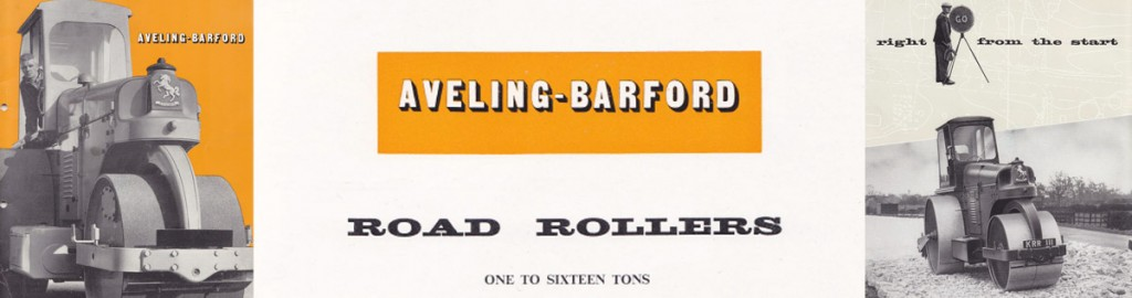 aveling barford road rollers