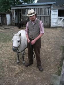Jack and Wheezer the pony