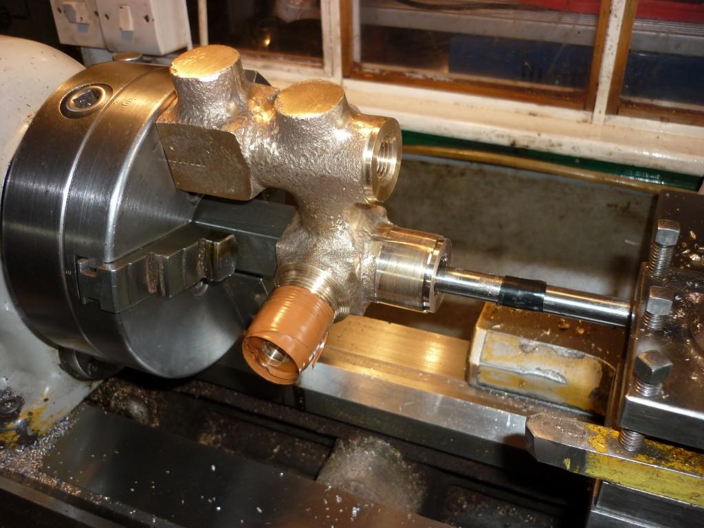 boring valve box for Samson