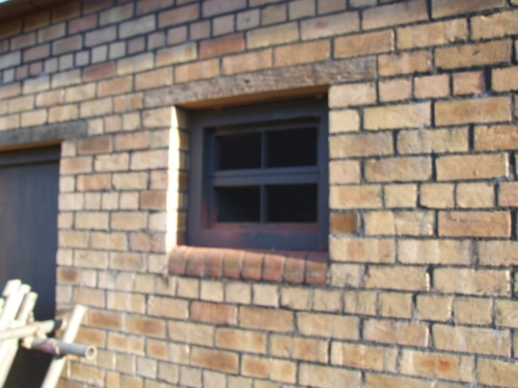 Smaller rear windows