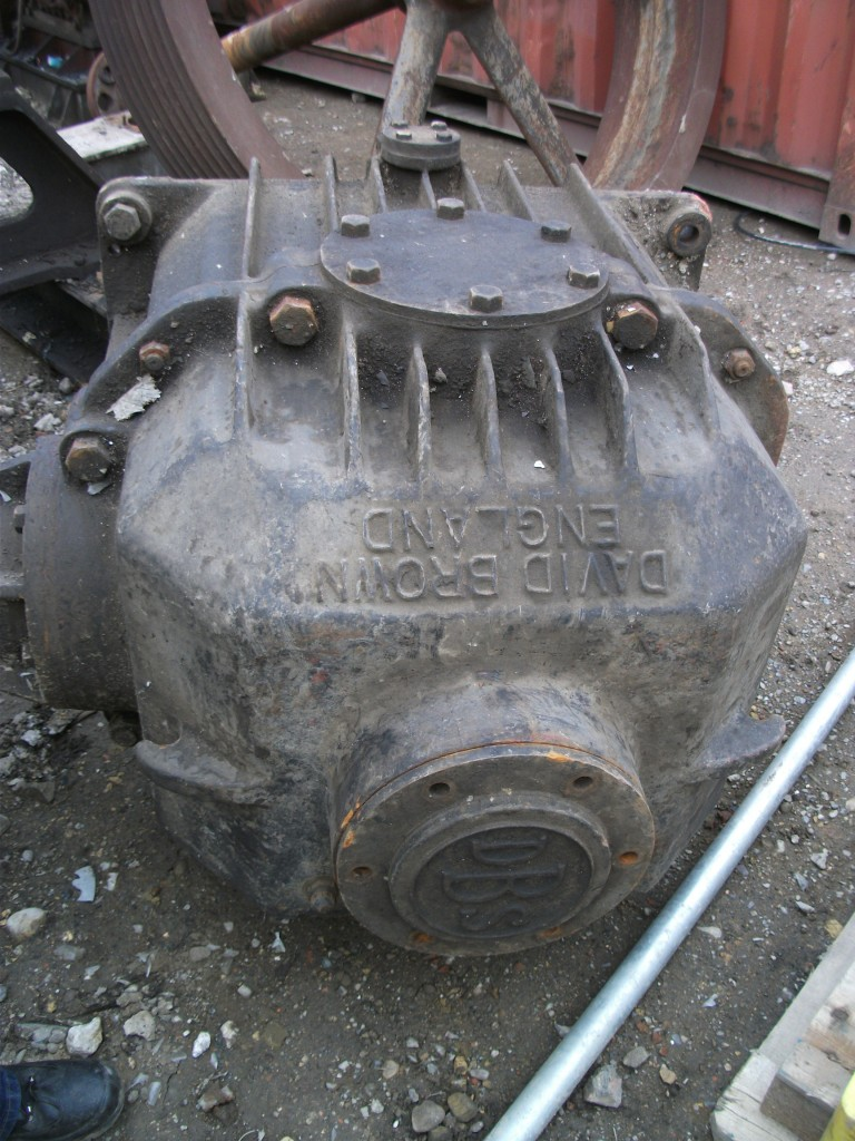 The David Brown gear box
