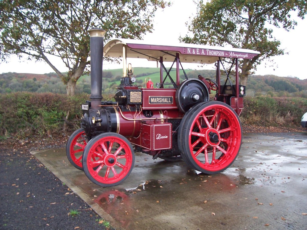 Marshall Steam Tractor