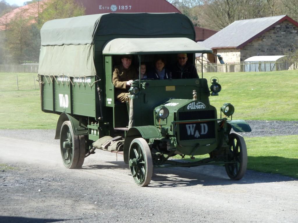 WW1 Albion Lorry