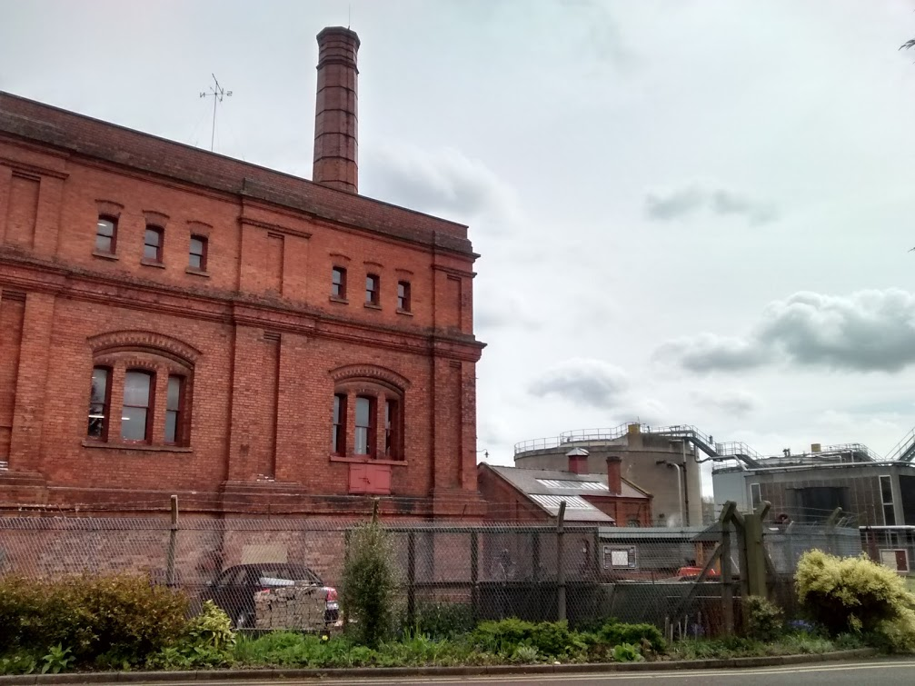 Clay Mills along side the new Severn Trent plant