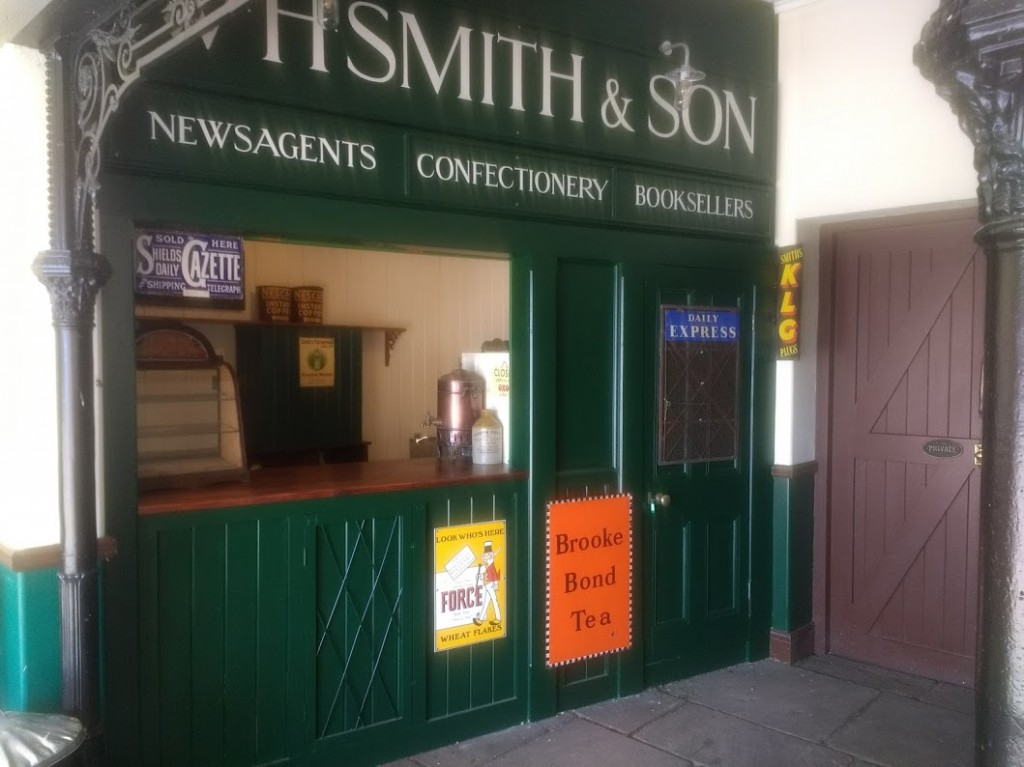 The finished W H Smith Kiosk