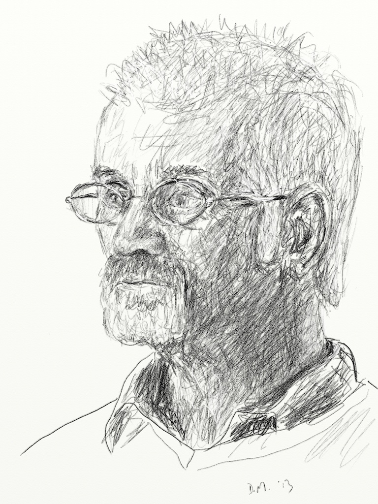 Danny Mooney 'Colin Johnson 26.3.13' Digital drawing