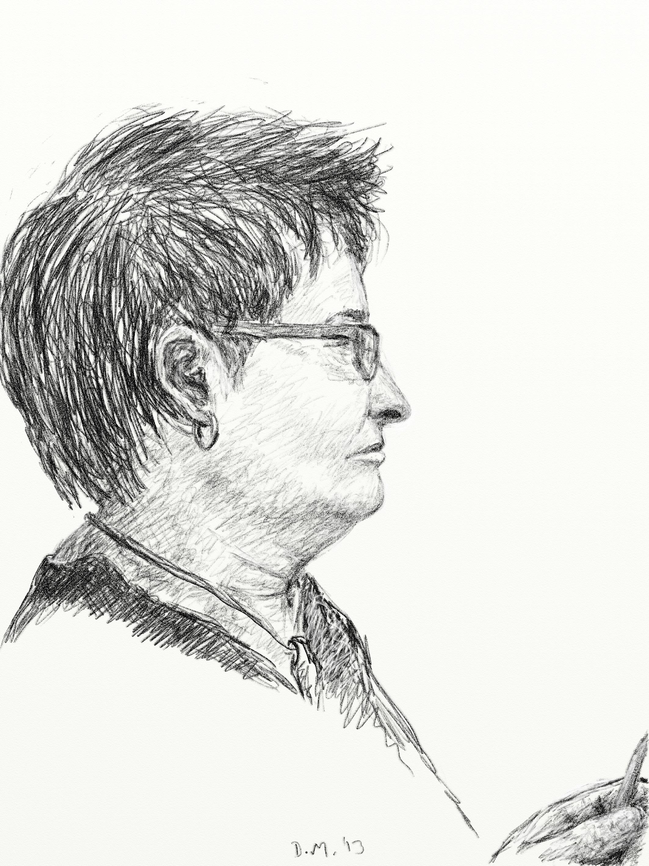 Danny Mooney 'Nicky 23.3.13' Digital drawing