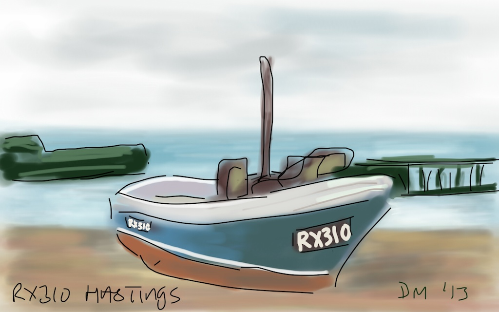 Danny Mooney 'RX310 Hastings' Digital drawing