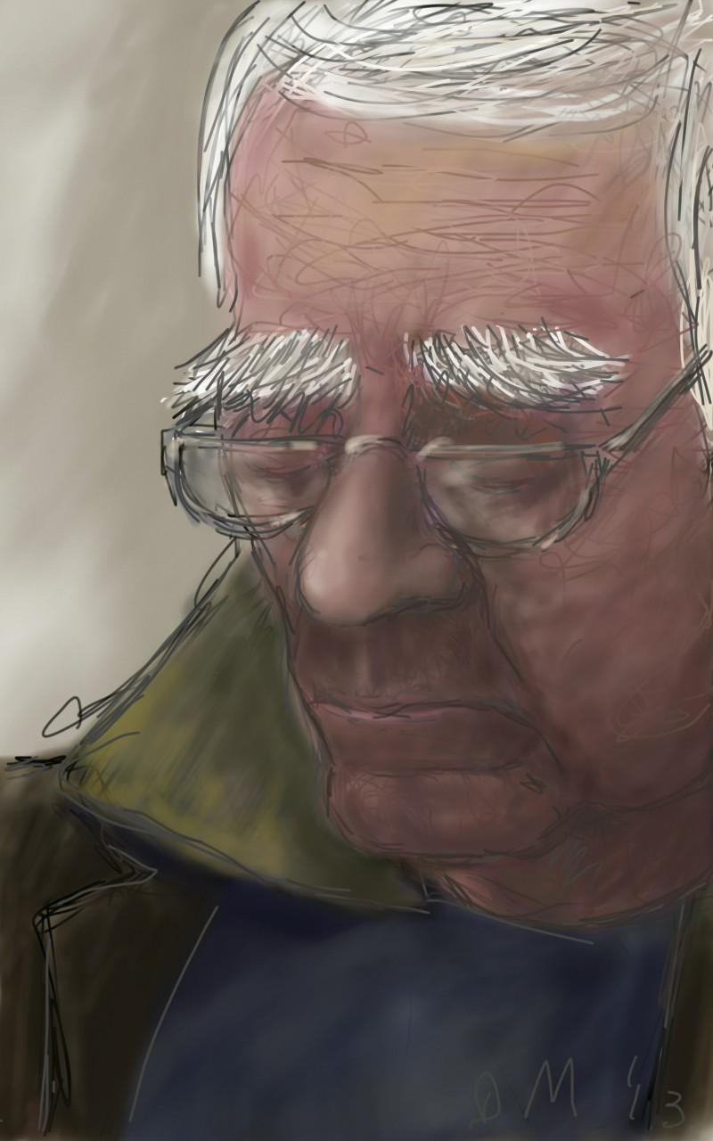 Danny Mooney 'Eyebrows' Digital drawing