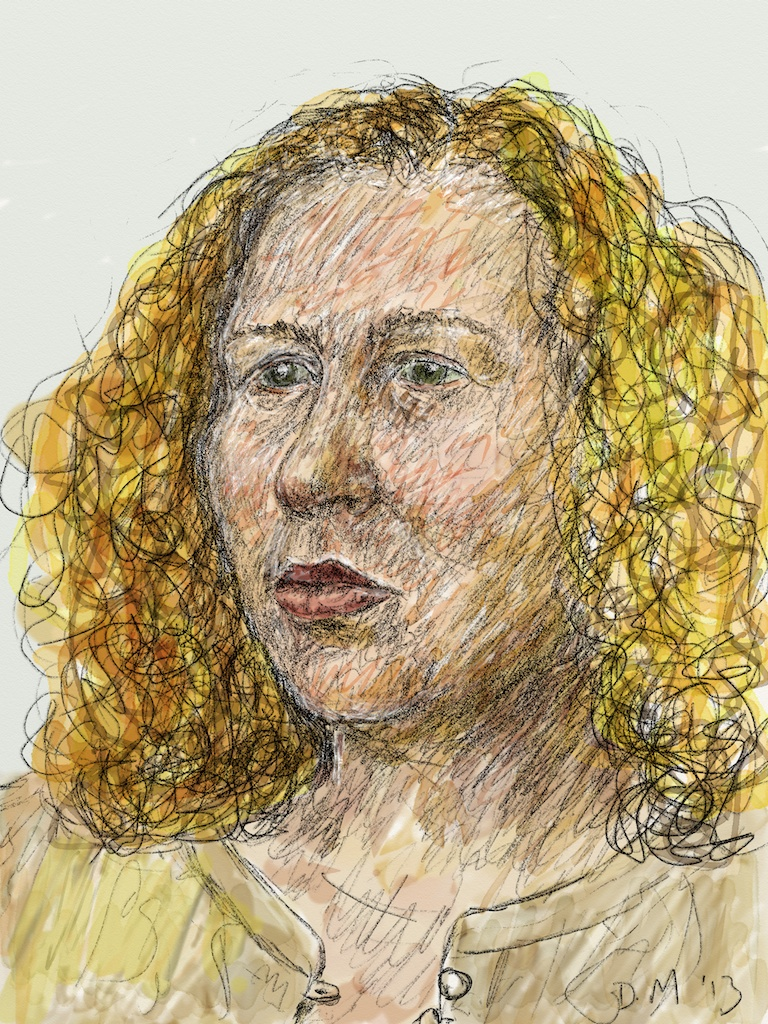 Danny Mooney 'Sophie 9.4.13' Digital drawing