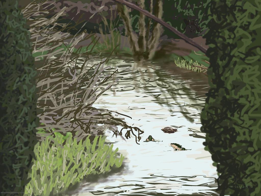 danny-mooney-ducks-on-the-river-12-1-2016-ipad-painting-apad1.jpg