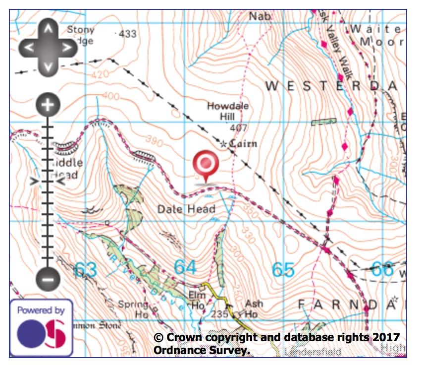 Stoney Ridge map