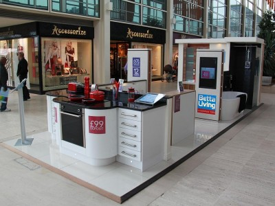 pop up retail promotional space